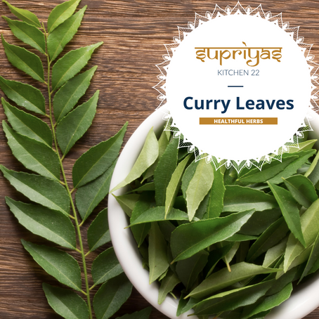 Healthful Herbs: Curry leaves
