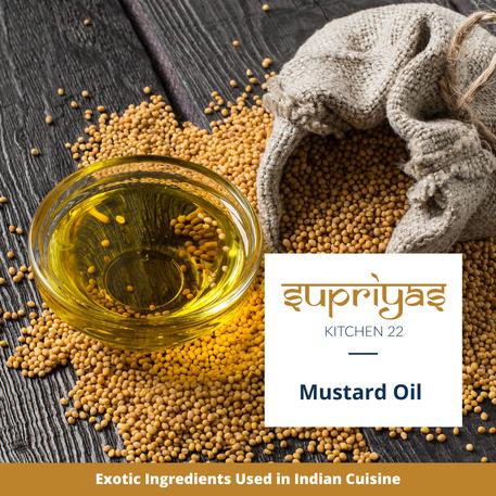 Exotic Ingredients : Mustard Oil