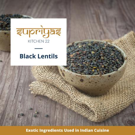 Exotic Ingredients : Black Lentils