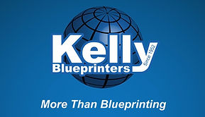Kelly Blueprinters Business cards