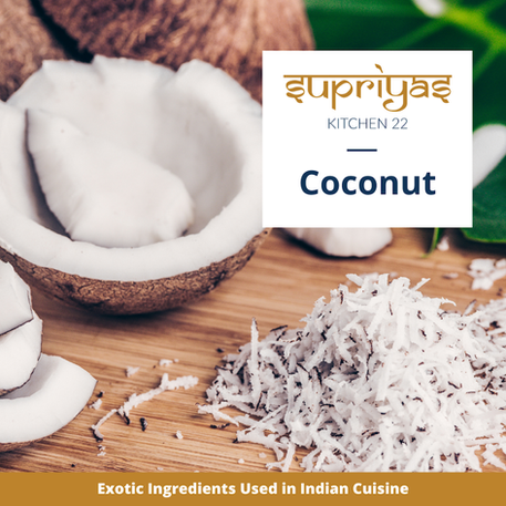 Exotic Ingredients: Coconut