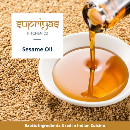 Exotic Ingredients : Sesame Oil