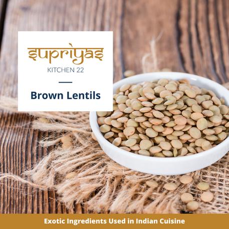 Exotic Ingredients : Brown Lentils
