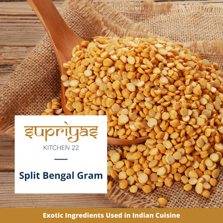 Exotic Ingredients : Split Bengal Gram