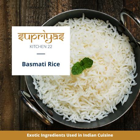 Exotic Ingredients : Basmati Rice