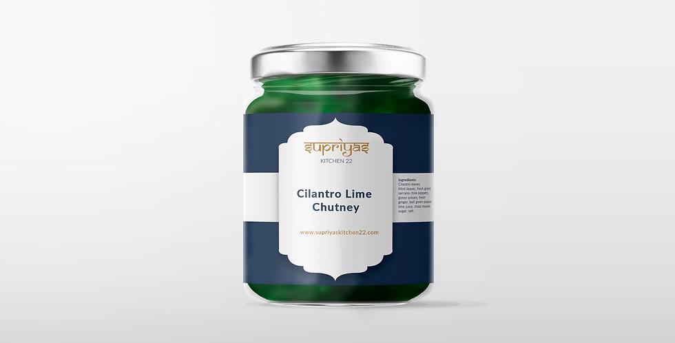 Cilantro Lime Chutney