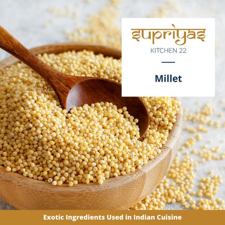 Exotic Ingredients : Millet