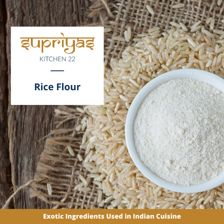Exotic Ingredients : Rice Flour