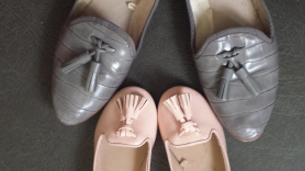Slippers Zara.