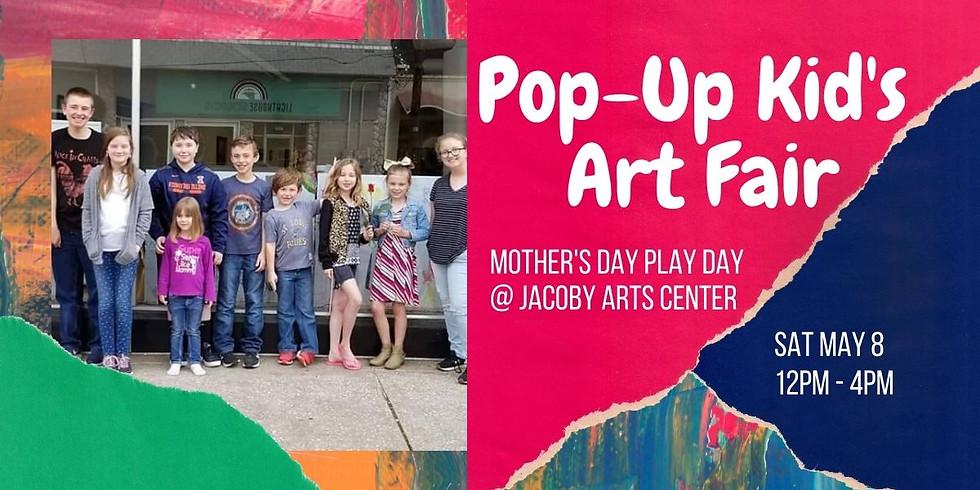 Pop-Up Kid's Art Fair REGISTRATION
