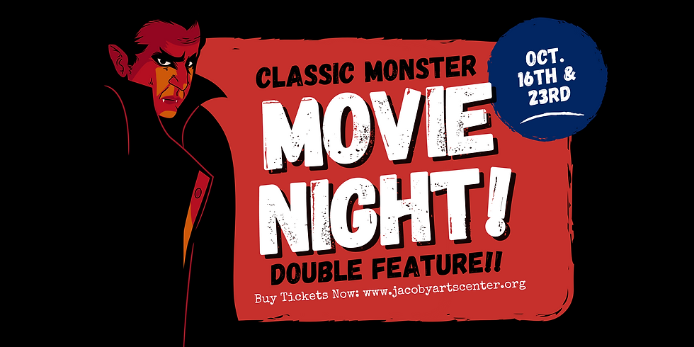 CLASSIC MONSTER MOVIE NIGHT! $10 Double Feature!!