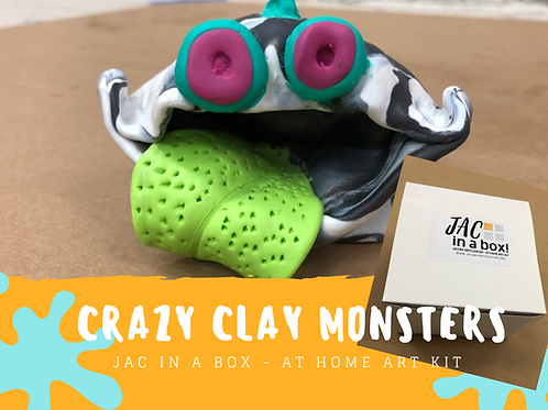 Crazy Clay Monsters
