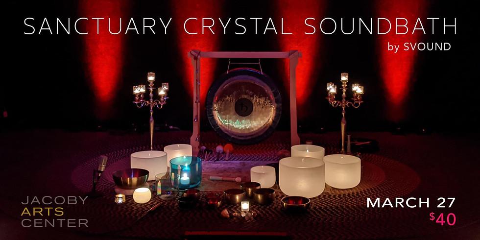 Sanctuary Crystal Soundbath by SVOUND