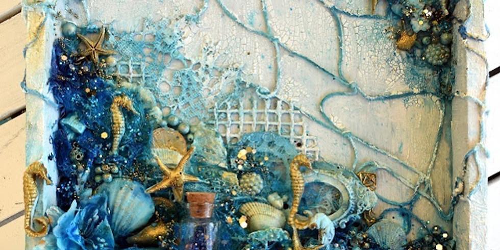 Under the Sea Mixed Media Art Camp
