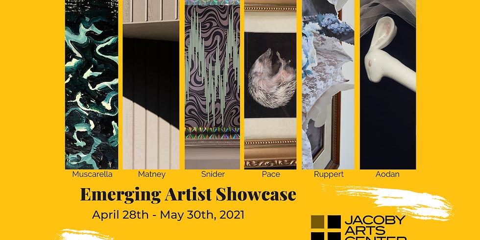 Emerging Artist Showcase Reception