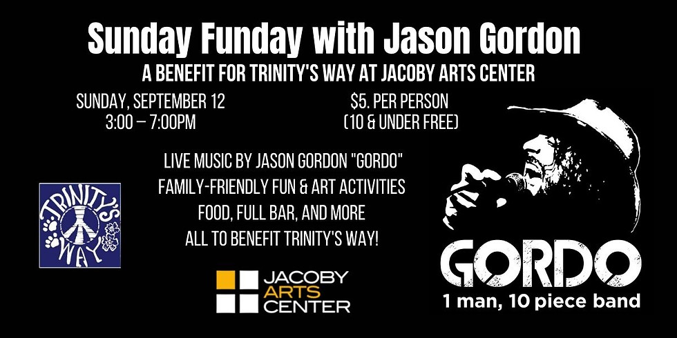 Sunday Funday with Jason Gordon - A Benefit for Trinity's Way