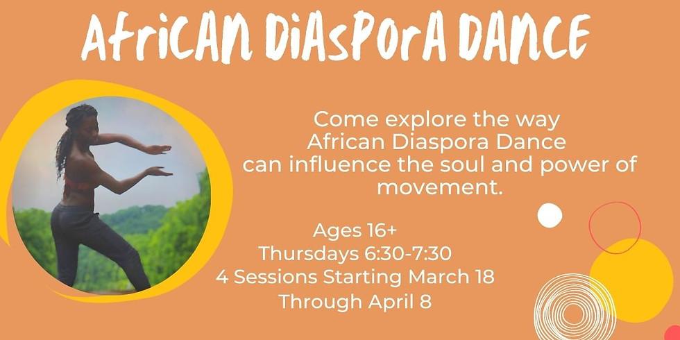 African Dispora Dance-THURSDAYS