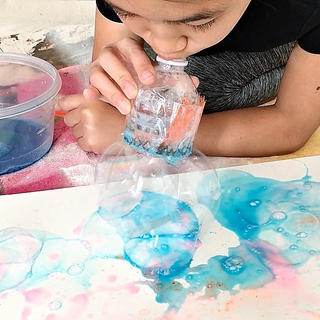 Watercolor Bubble Art