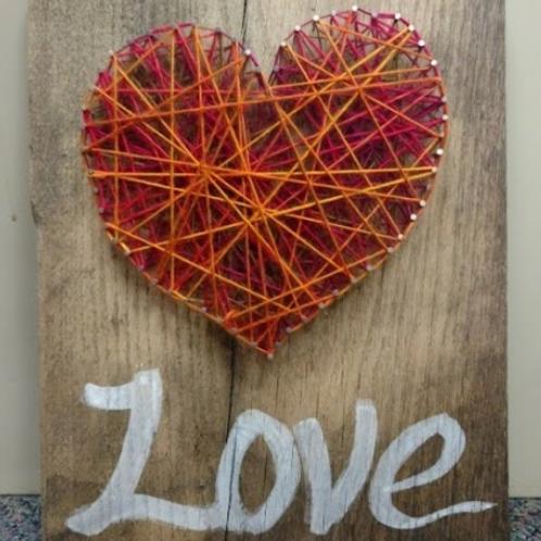 Geometric Heart Strings - Pod Party