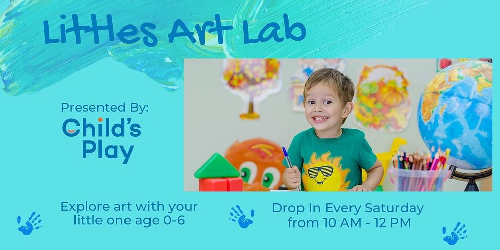 Littles Art Lab - SATURDAYS