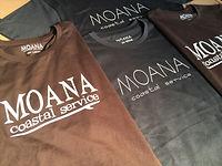 MOANA サーフショップ オリジナル Tシャツ