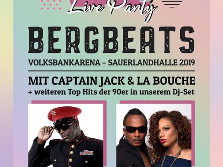 BERGBEATS 90er Live Party