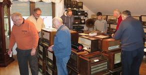 Männerstammtisch im Heinsberger Radiomuseum