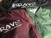 Brave サーフショップ オリジナル コーチジャケット