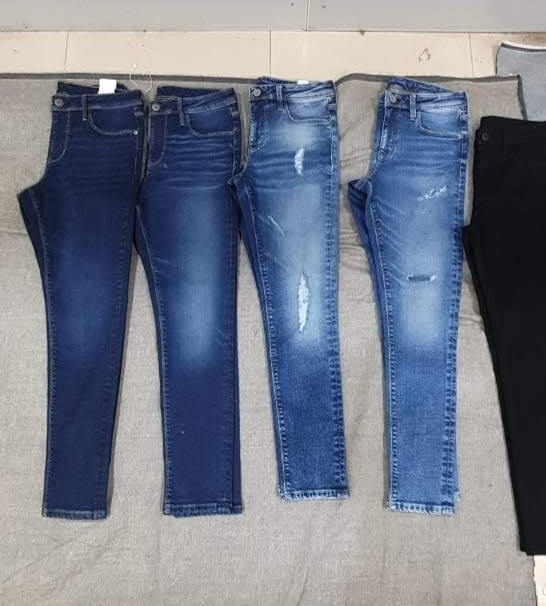 Darker blue jeans washes