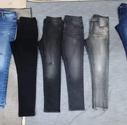 Black denim wash shades