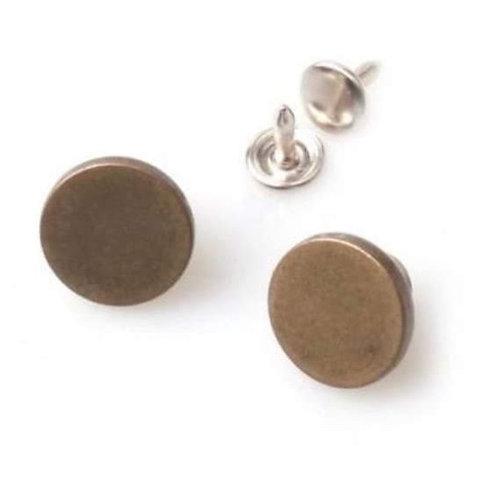 Metal Jean Button 24L 27L Sourcing