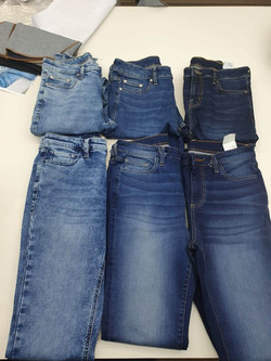 Jeans wash shades