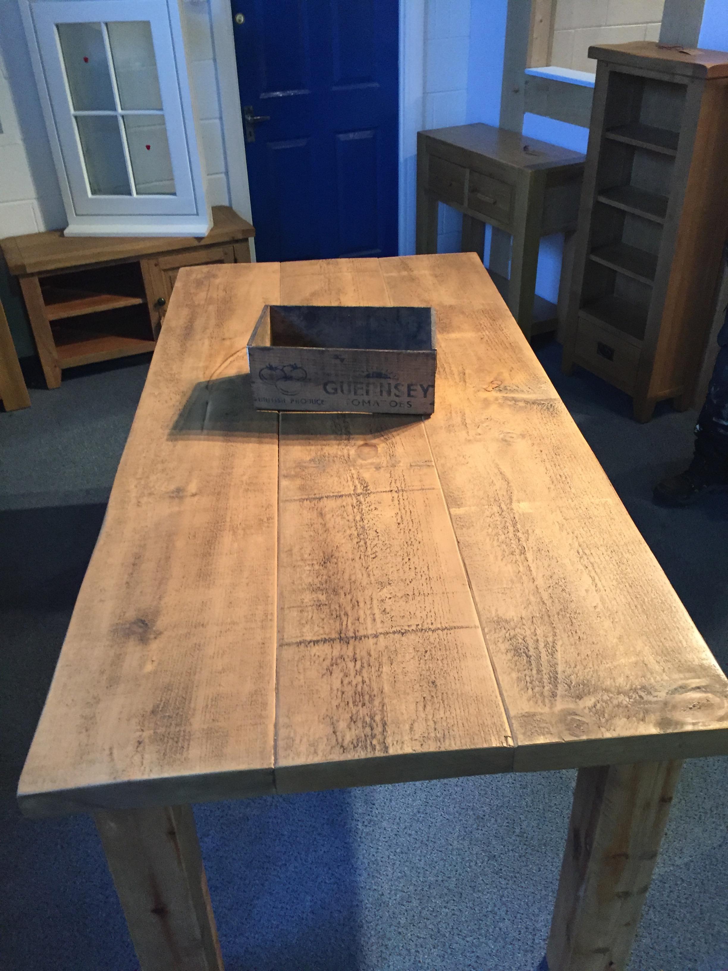 Handmade Dining table (6'x3')