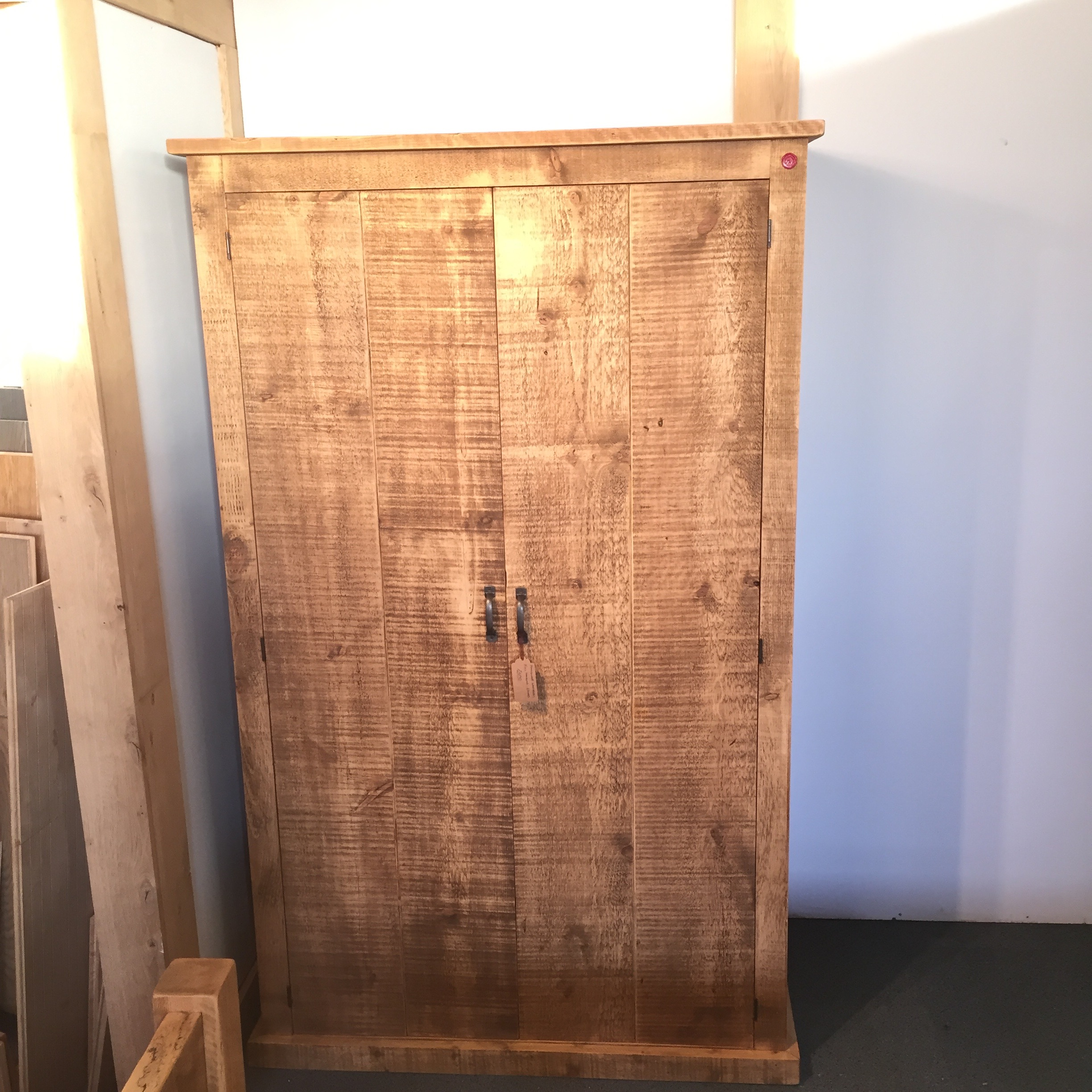 Handmade full hanging/2 door wardrob