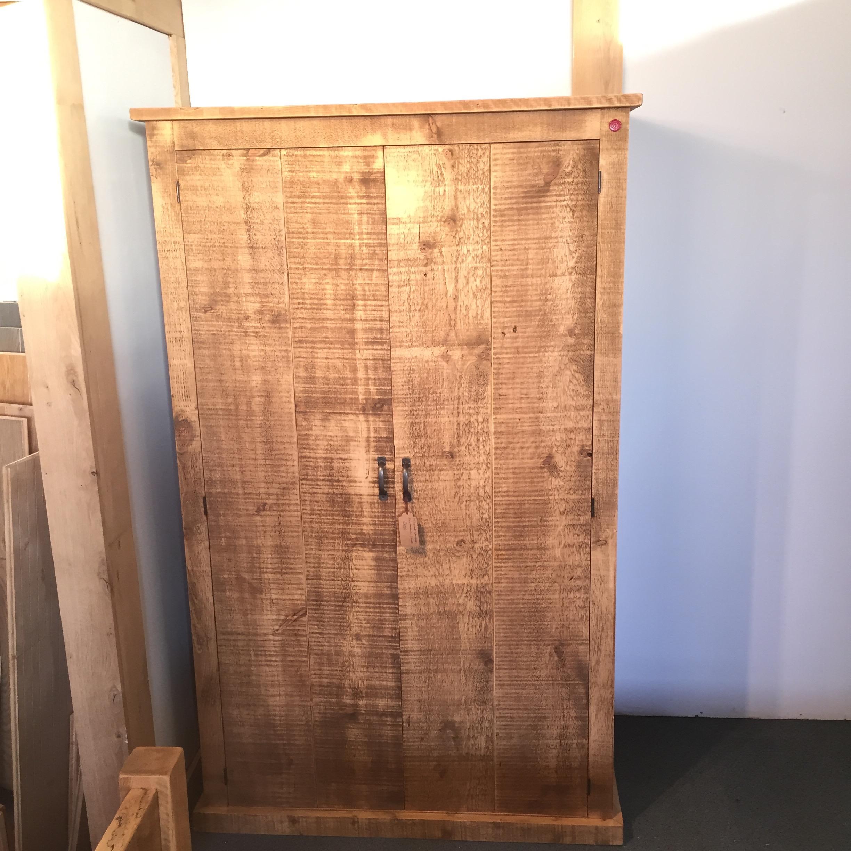 Handmade full hanging/2 door wardrob