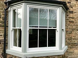 Hardwood Sash Bay Window