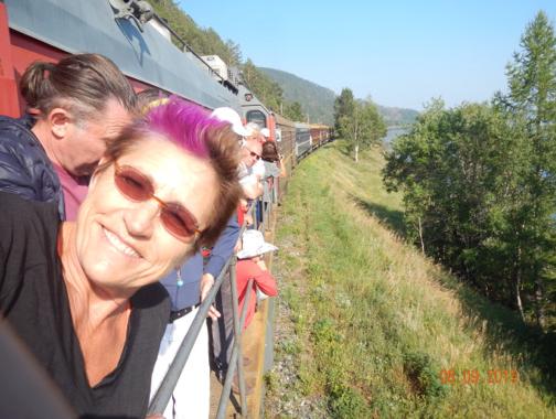 Blog for Immediate Posting from Trans-Siberian Railroad