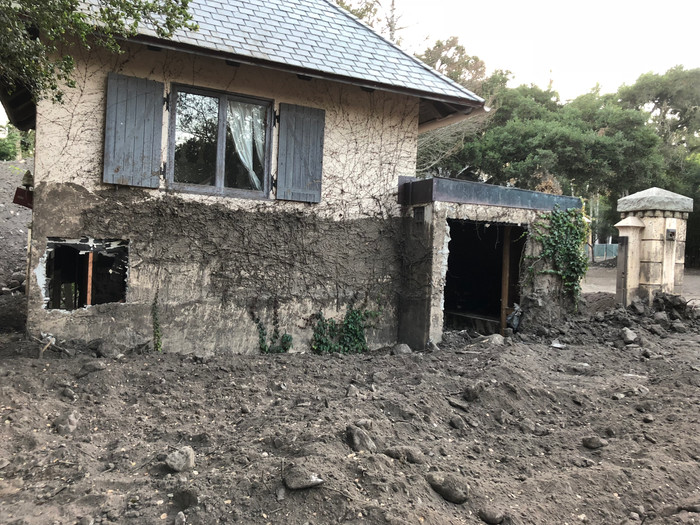 Aftermath of the Montecito Mudslide