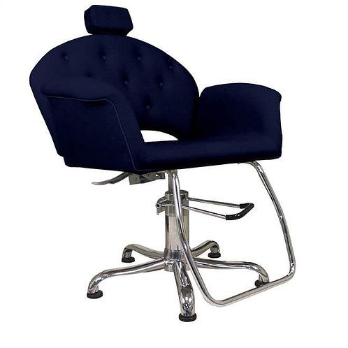 Cadeira Reclinável Velvet Com Cabeçote