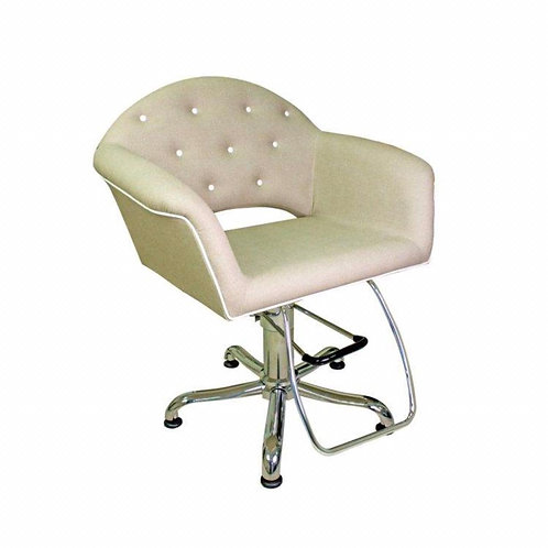 Cadeira Fixa Velvet Sem Cabeçote