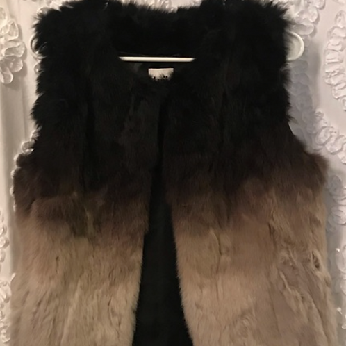 Gradient Fur Vest
