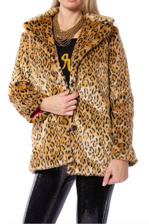 Cheetah Jacket with Pink Lining
