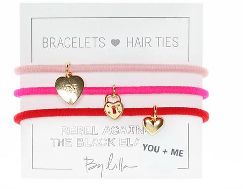 Bracelet/ Hair Tie Set of Three