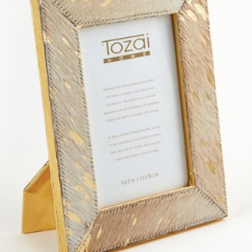 Golden Cowhide Frames