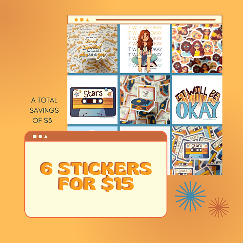 Stickers ALL for $15