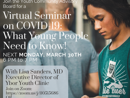 Resources for Teens & Young Adults During COVID-19