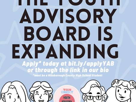 The Youth Advisory Board Is Expanding!