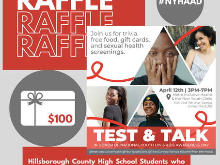 April 12 Test & Talk Event: Free Sexual Health Screenings, Trivia, Prizes & More!