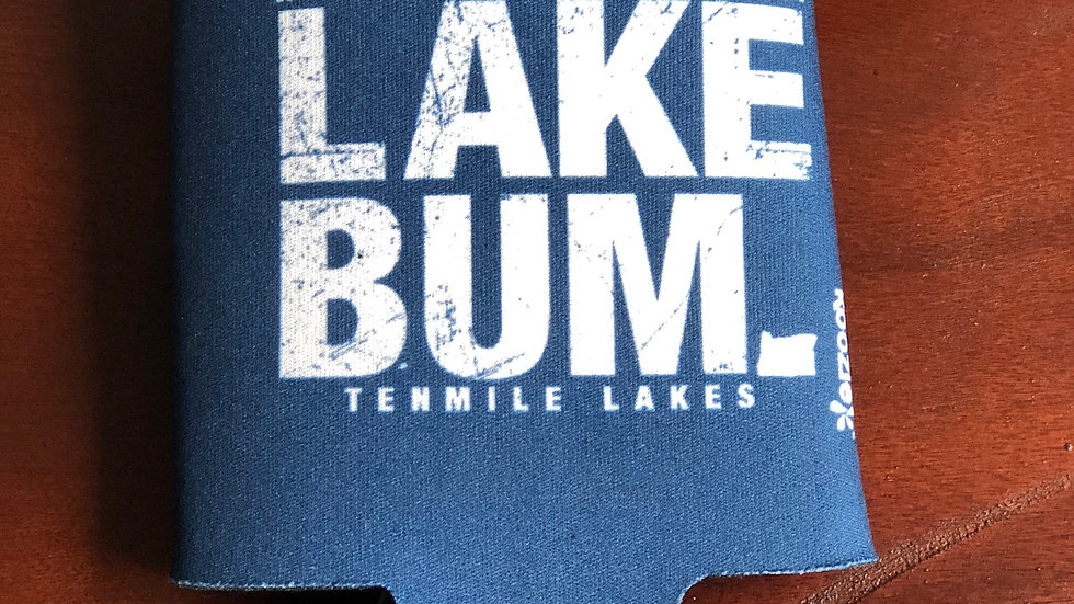 Lake Bum Koozie