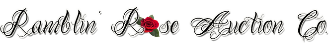 Ramblin Rose Auction Company Logo
